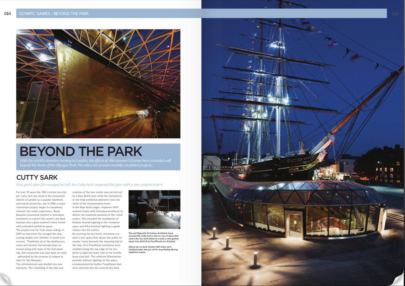 Lighting Cutty Sark 1