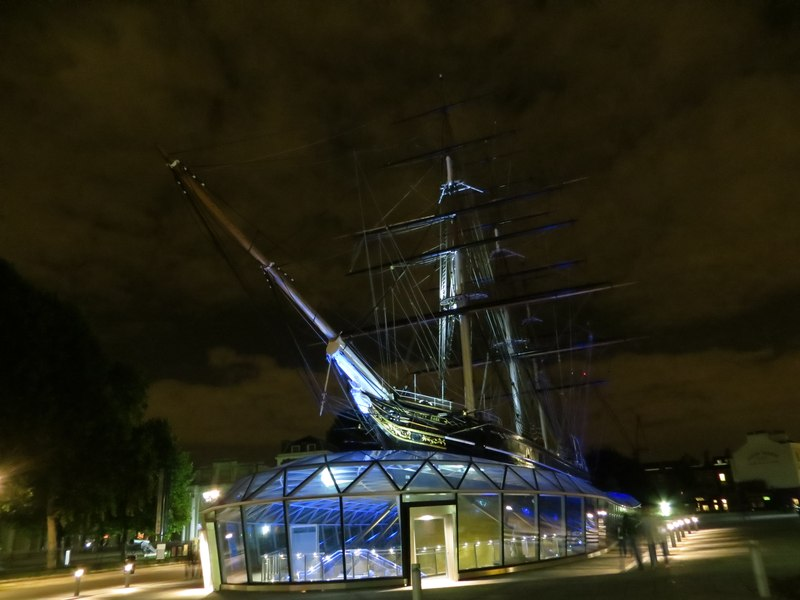 Lighting Cutty Sark 4