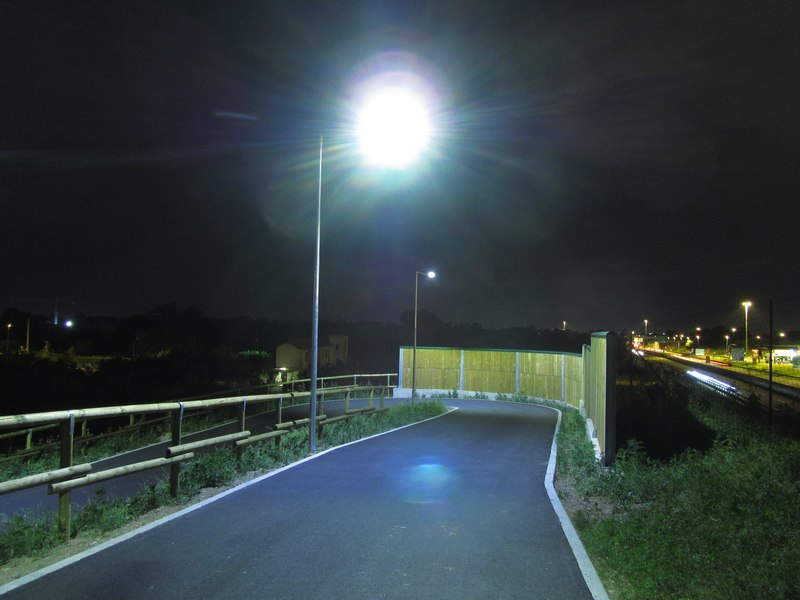 LEADER LIGHT - Cicleway with flyover on A4 Highway – Pero 9