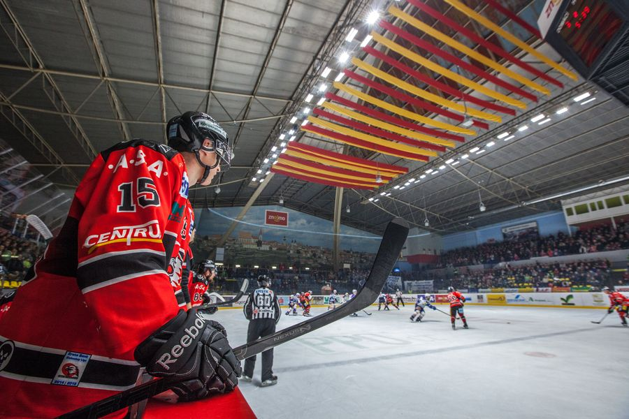 LEADER LIGHT - Ice hockey stadium, Znojmo, Czech Republic 1