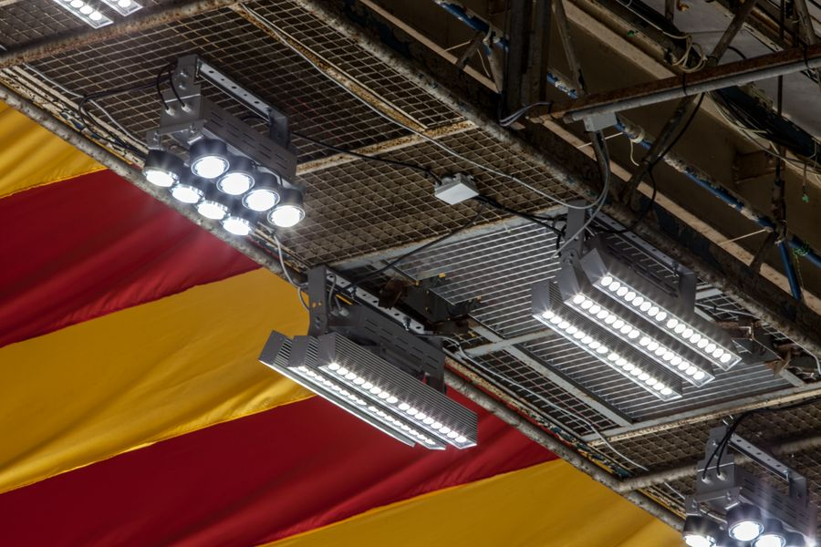 LEADER LIGHT - Ice hockey stadium, Znojmo, Czech Republic 3