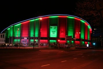 Scandinavium Hall, Sweden 3