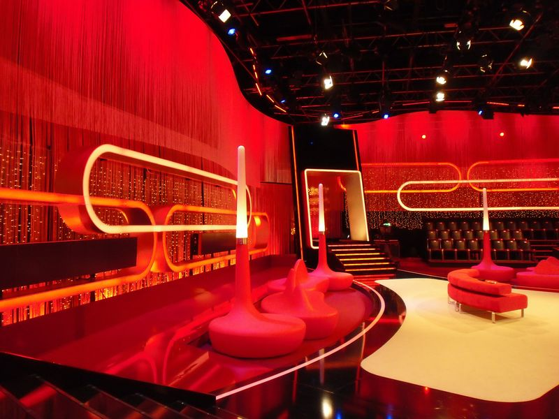 LEADER LIGHT products in RTL studio in Germany 2