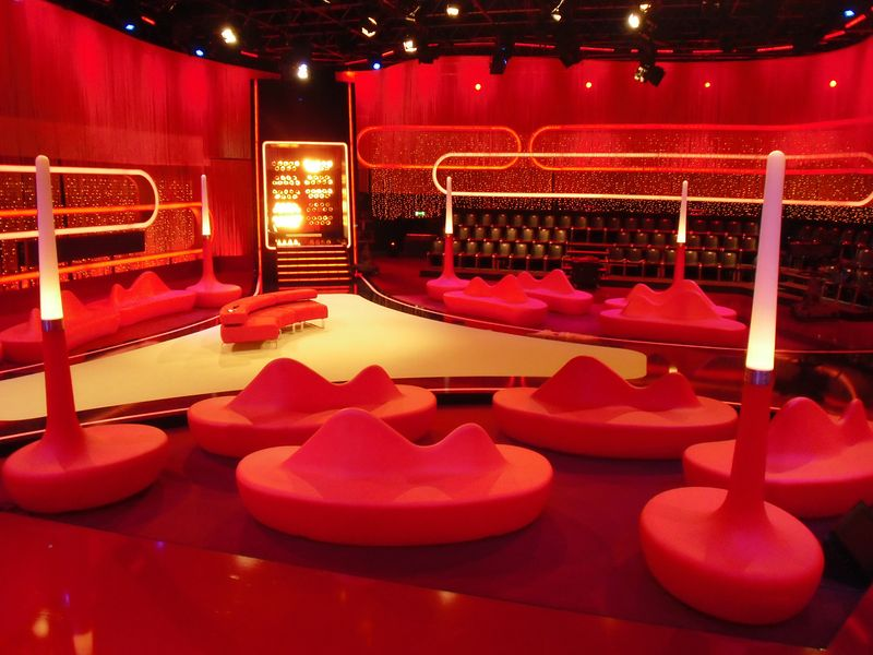 LEADER LIGHT products in RTL studio in Germany 5