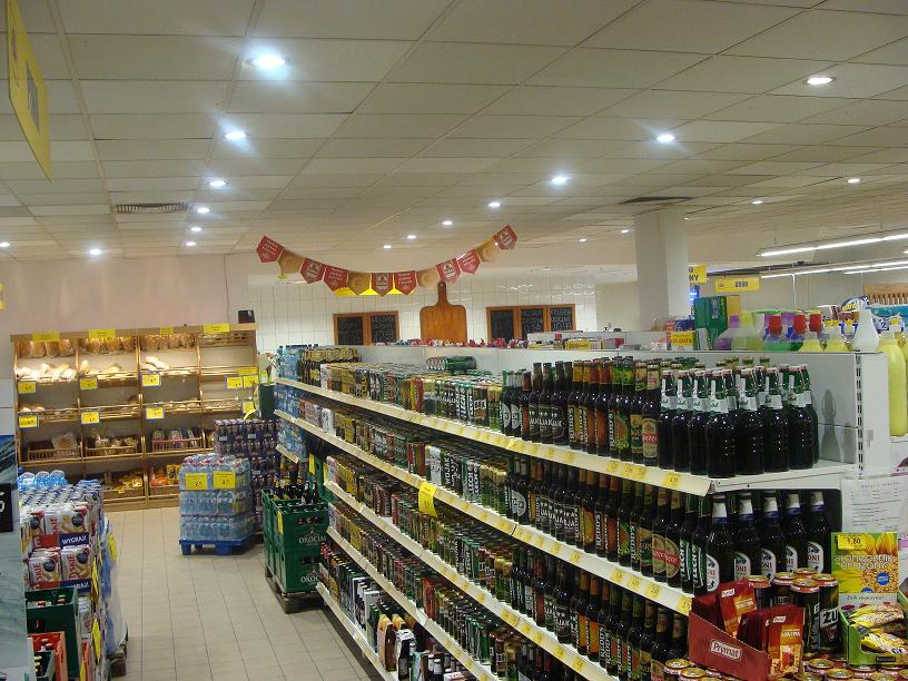 LEADER LIGHT in Poland Supermarket  1