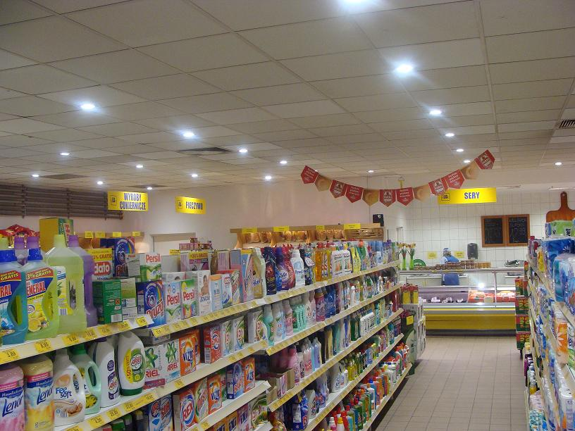 LEADER LIGHT in Poland Supermarket  2