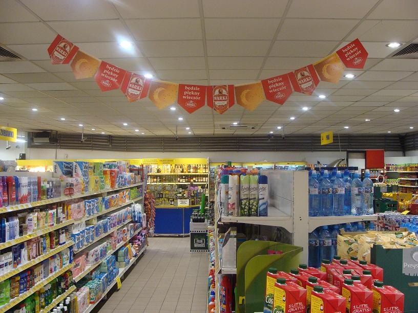 LEADER LIGHT in Poland Supermarket  3