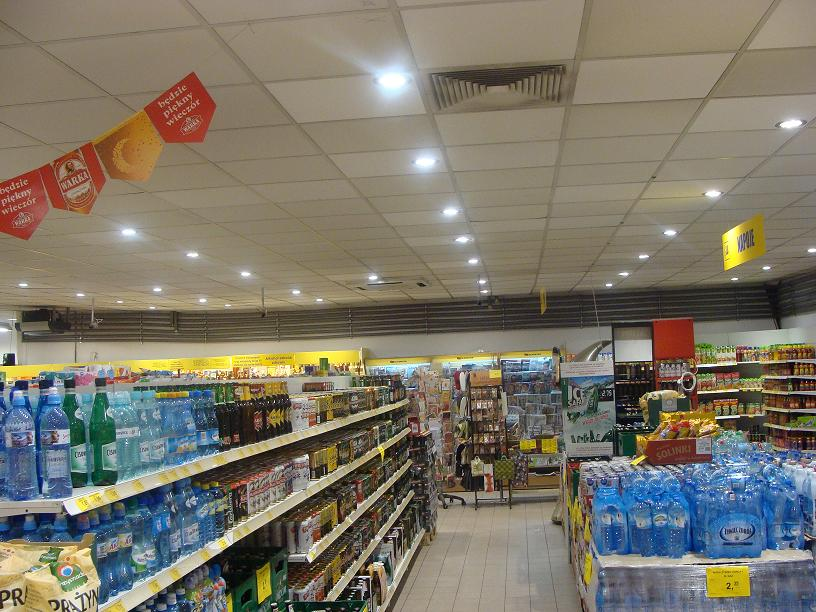 LEADER LIGHT in Poland Supermarket  5