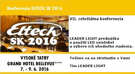 ELTECH 2016 info